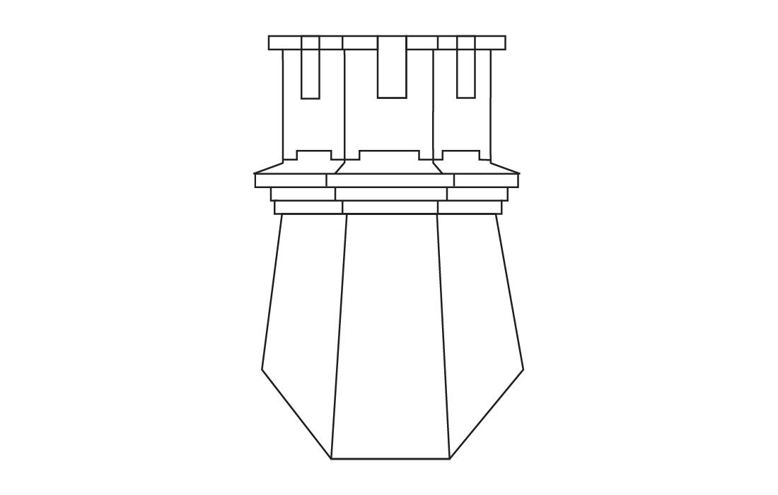 Rakennuksen brändin ikoni